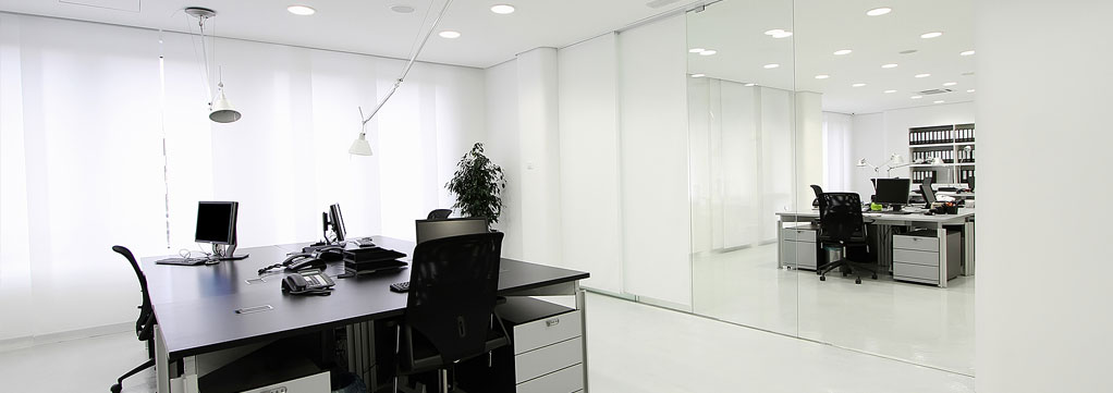 commercial office retail fit outs interiors partitions